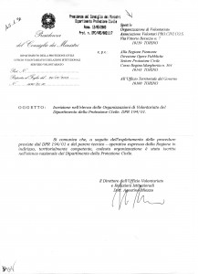 riconoscimento_nazionale PROCIVICOS (volontari di protezione civile della comunità di scientology)